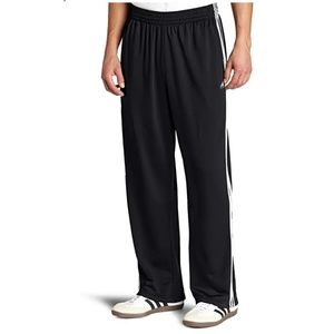 Adidas Three Stripe Pull On Track Pants L